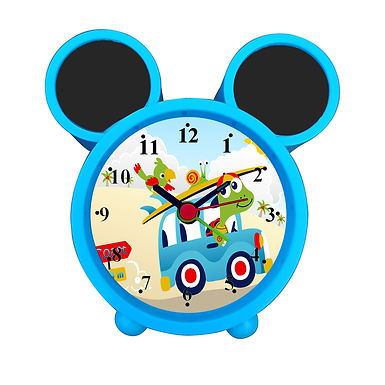 Cute Cartoon Animals Alarm Clock for Kids Room by WENS