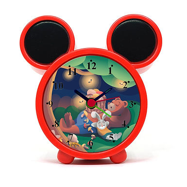 Animal Dreaming Alarm Clock for Kids Room by WENS