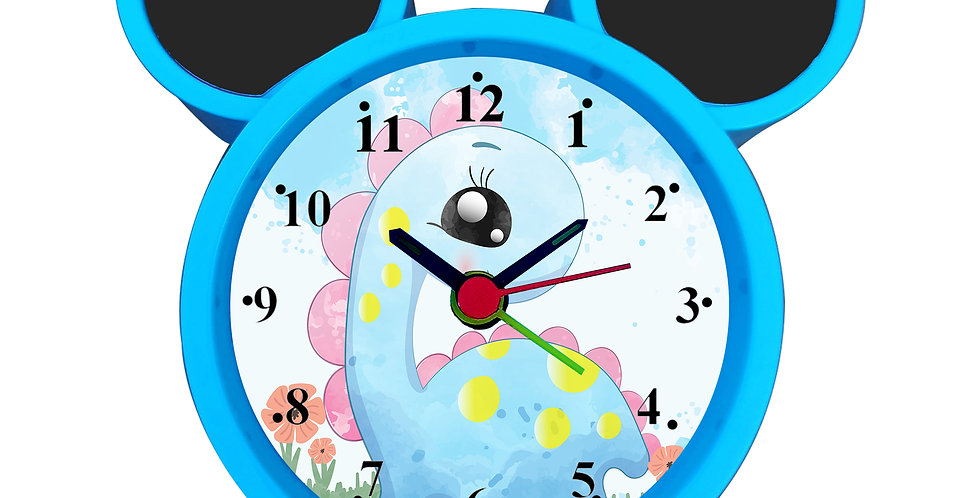 Cute Dinosaur Alarm Clock for Kids Room by WENS