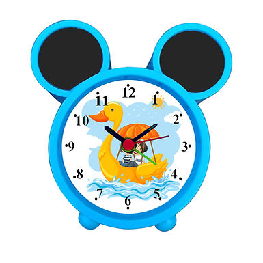 Duck Boat Ride Alarm Clock for Kids Room by WENS