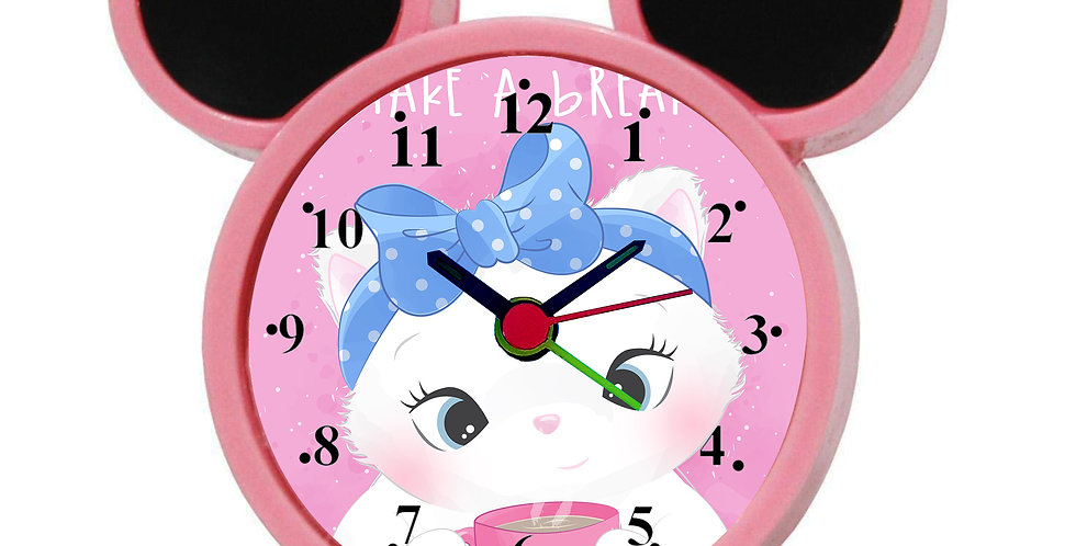 Funny Cartoon Bear Alarm Clock for Kids Room by WENS