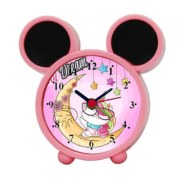 Sweet Dreams Alarm Clock for Kids Room by WENS