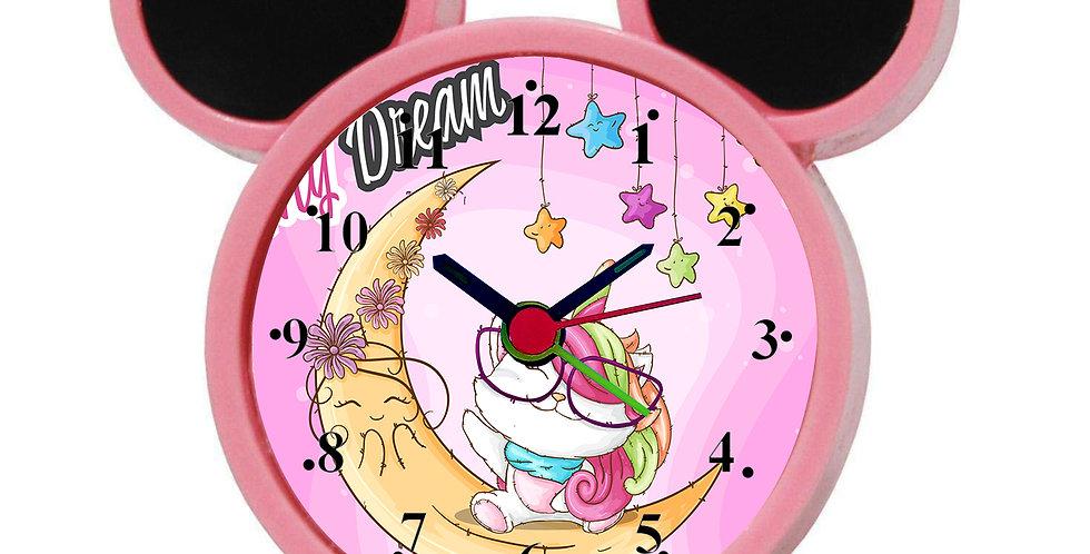Sweet Dreams Alarm Clock for Kids Room by WENS