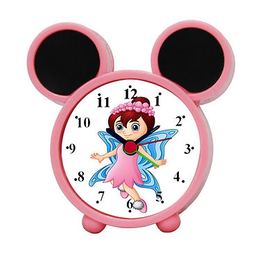 Cute Fairy Alarm Clock for Kids Room by WENS