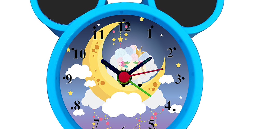 Sheep On Moon Alarm Clock for Kids Room by WENS