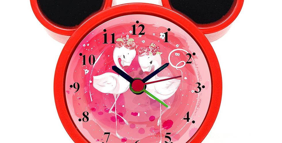 Cute Animal Alarm Clock for Kids Room by WENS