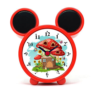 Fairy Tale House Alarm Clock for Kids Room by WENS
