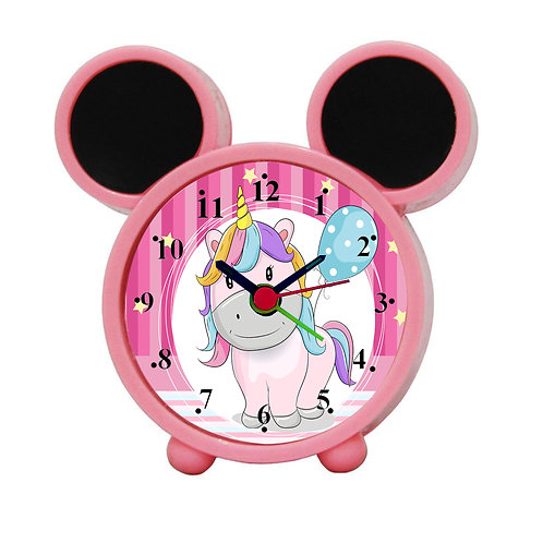 Cute Unicorn Alarm Clock for Kids Room by WENS