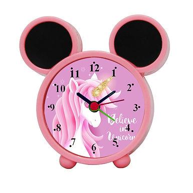 Believe In Unicorn Alarm Clock for Kids Room