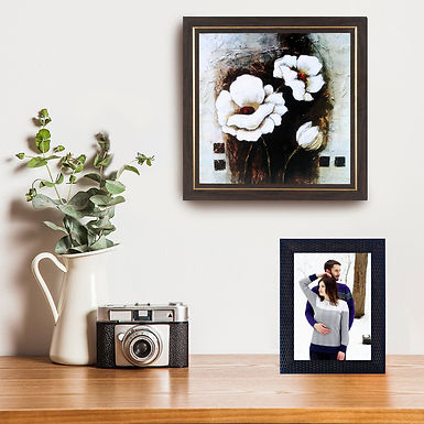 WENS Wall Mounted & Table Photo Frame With Front Acrylic Glass