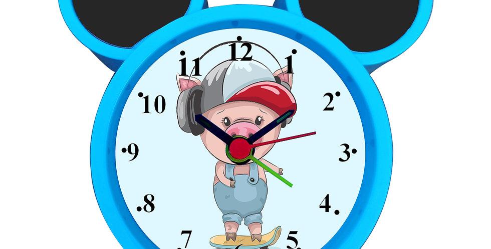 Roller Skate Ride Alarm Clock for Kids Room by WENS