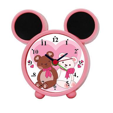 Cute Bears Alarm Clock for Kids Room by WENS