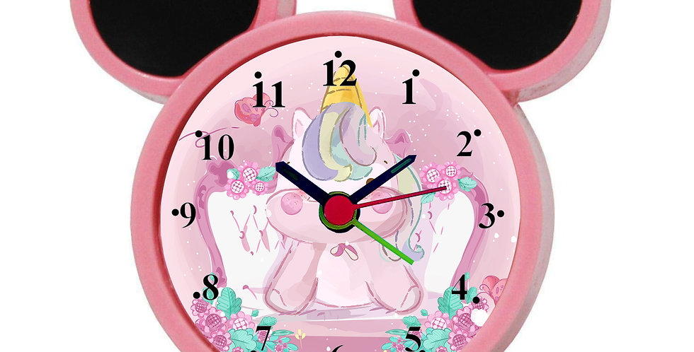 Unicorn Alarm Clock for Kids Room by WENS