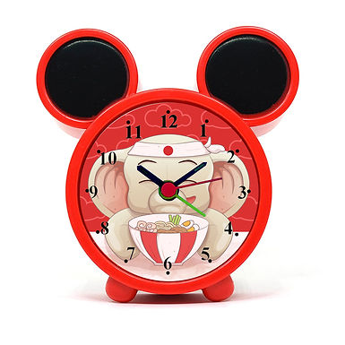 Cute Elephant Alarm Clock for Kids Room by WENS