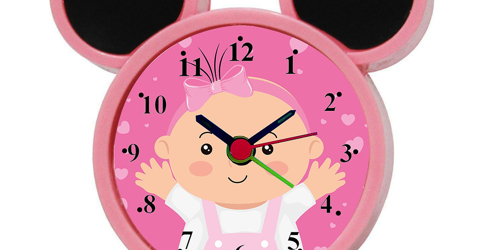 Happy Baby Alarm Clock for Kids Room by WENS