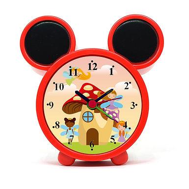 Cute Fairies Alarm Clock for Kids Room by WENS