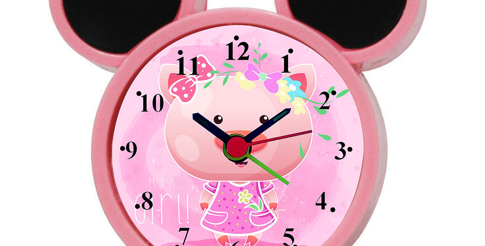 Cute Cartoon Alarm Clock for Kids Room by WENS