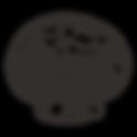 Sketched Button Mushroom