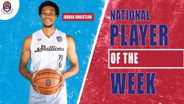 Jordan Robertson Player of the Week