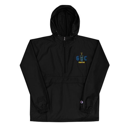 GC Creative Logo Embroidered Champion Packable Jacket