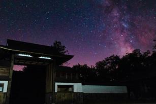 Catskills Milky Way Purple SKy