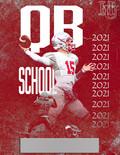 Hamilton University Football QB Booklet Graphic