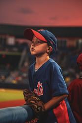 Mets Fan Young Boy
