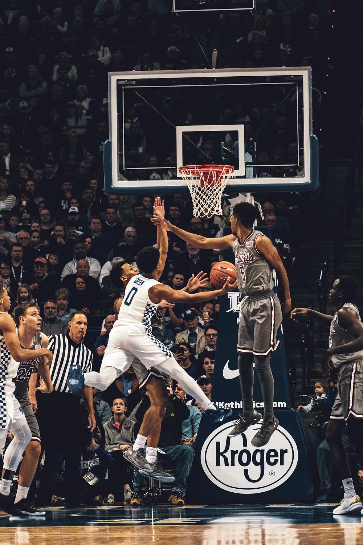 sports photography, sports photo, basketball photography, University of Kentucky men's basketball, Southern Illinois university men's basketball