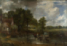 Constable's painting the hay wain