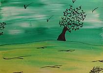 P16 L'arbre vert