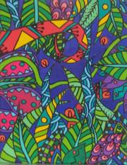 Jungle psyché PAP18