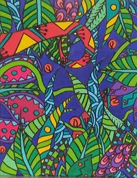 Jungle psyché PAP20