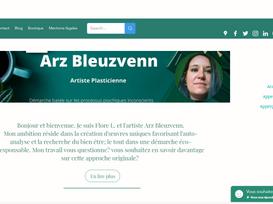 Le nouveau site Arz B.