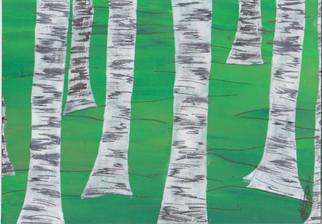 La forêt de bouleaux P30