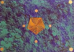 C02 Bleu abstrait