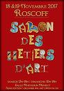 Affiche Salon des métiers d'art 2017 Roscoff