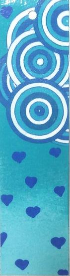 7. Cœurs bleus de nuage