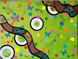 Swing butterfly PAP8