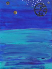 La lune et la mer C48