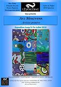 Affiche expo l'Hermine Arz Bleuzvenn