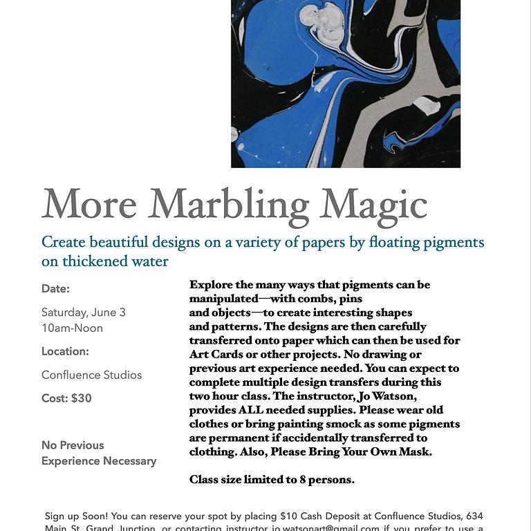More Marbling Magic