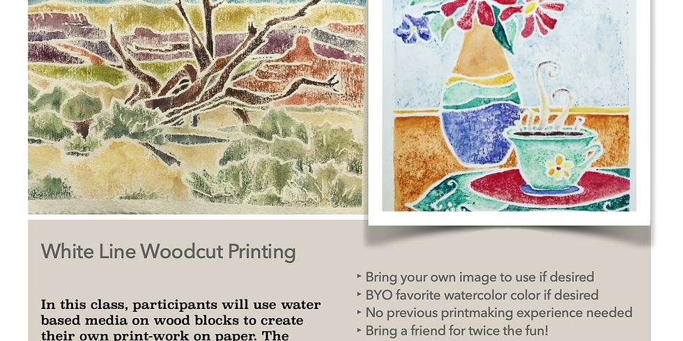 White-Line Printmaking