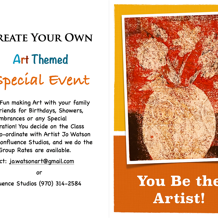 Create Your Own Art-Themed Event!