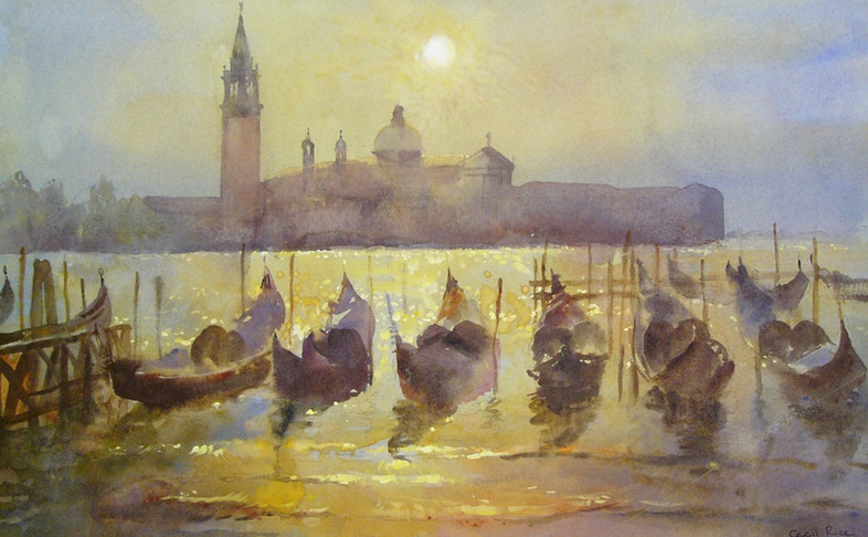 San Maggiore, moonlight
