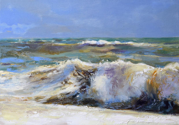 Breaking wave (Now Sold)