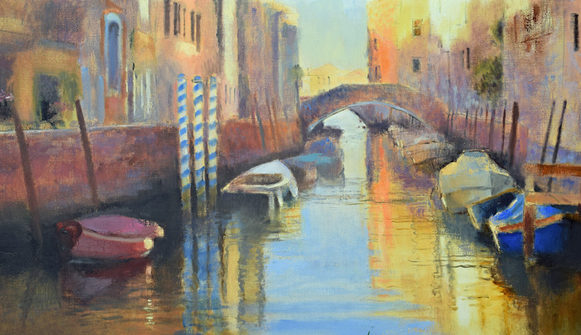 Silent Canal, Venice