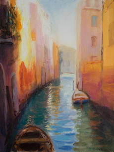 Orange light, Venice