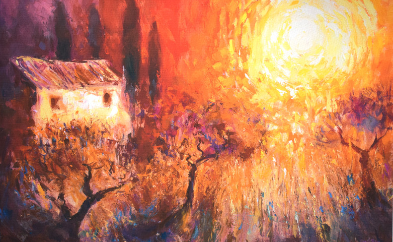 Tuscan Sunset