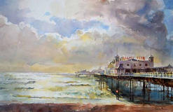 Clearing skies, Palace Pier