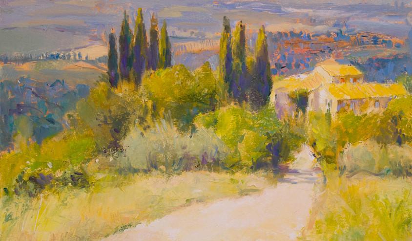 White Road, Tuscany